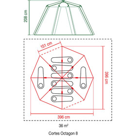 Coleman Cortes Octagon 8 Teltta
